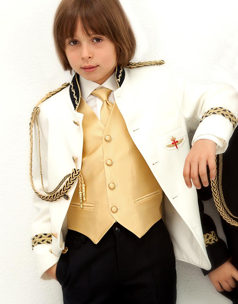 546a17fdc Chaleco y corbata Oro de Almirante 01-14 2-1 - chic&chic