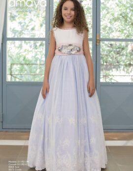 6990c43efeec Vestidos de comunión Amaya - Moda chic infantil