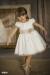 Vestido  Amanda crudo-tostado (2-14 Años)