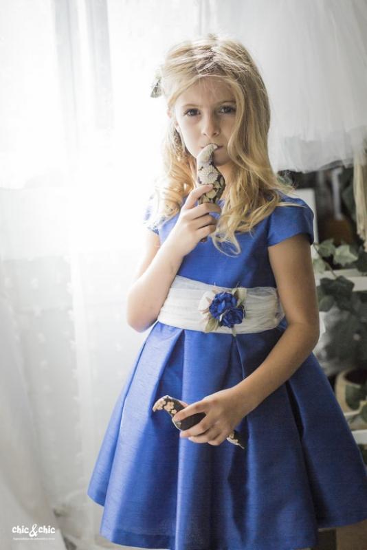 Vestido  Ania Azulón (2-14 Años)