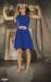 Vestido Aitana azulón (4-16 Años). Sin cinturón