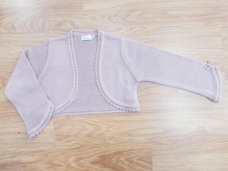 Chaqueta 101-031 perle rosa maquillaje.  (2-6 Años)