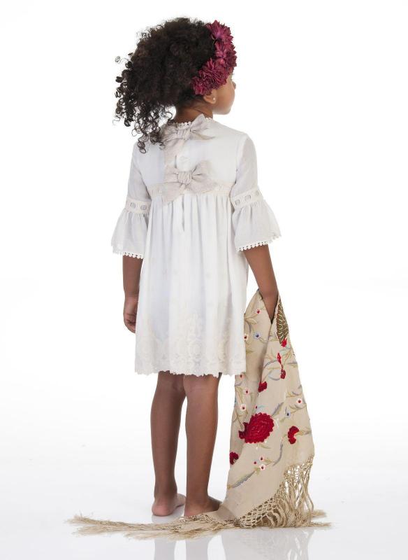 Vestido bordado 30076
