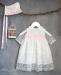 Vestido con capota tul bodoques 34428-R (6-24 meses)