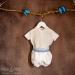 Conjunto niño organza beige 20 (De 6 a 12 meses)