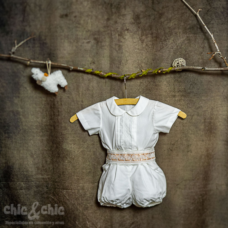 Conjunto niño lino 39928 (De 6 a 24 meses)