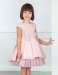 Vestido 5504 (4-12 Años). Color rosa