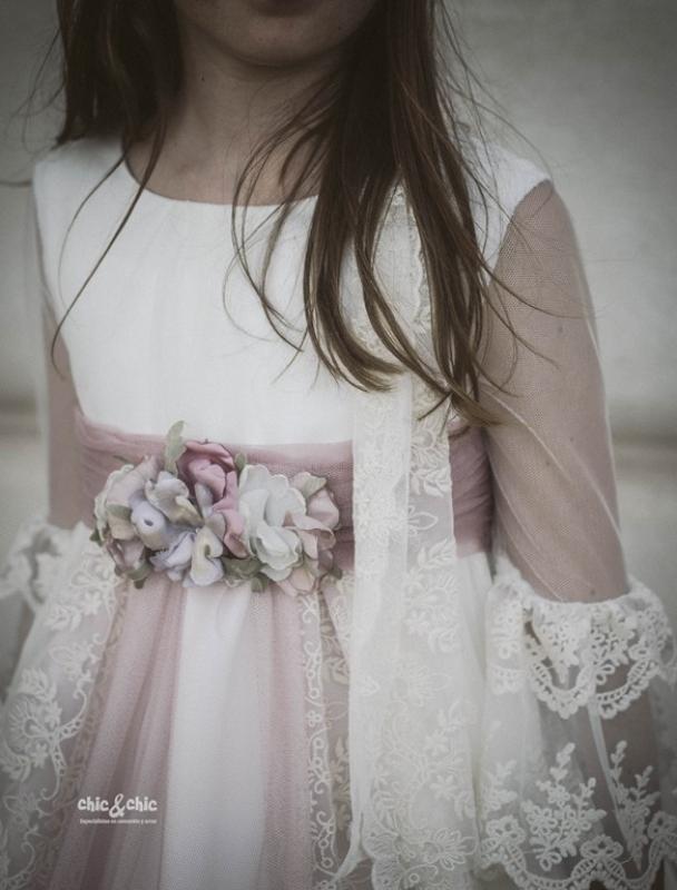 Adorno del vestido de comunión MERCEDES