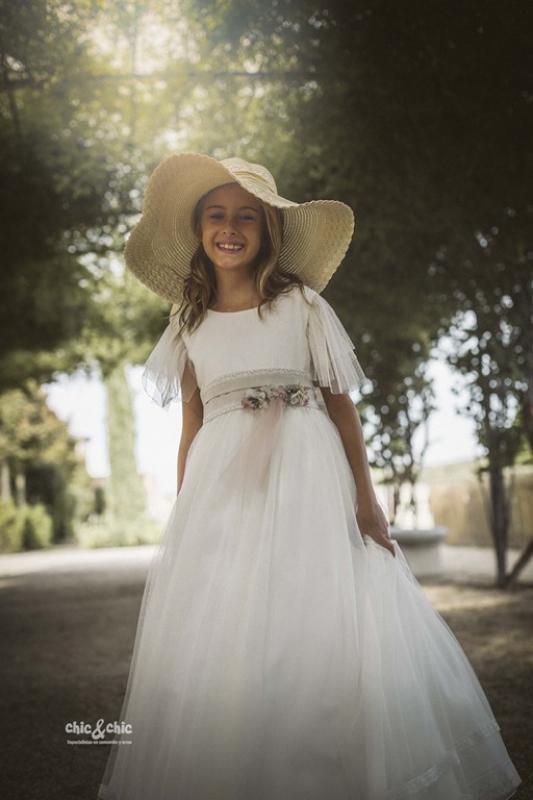 Adorno del vestido de comunión LARA