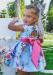 Vestido de ceremonia 201435. (2-12 Años) Azul