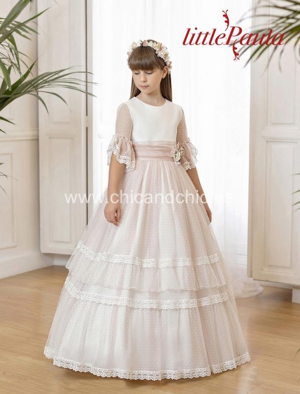 Vestido de comunión LP123