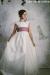 Vestido de comunión LEONOR MUSOLA ROSA. SOLO VENTA ONLINE.