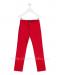 Pantalón gabardina elastano rojo.