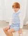 Conjunto de niño pantalón corto 533292T.(1-12 Años) Azul/rosa/crudo/caqui/maquillaje/verde agua