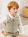 Conjunto de niño pantalón corto 533282V.(1-12 Años) Azul/rosa/crudo/caqui/maquillaje/verde agua/tostado