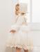 Capota del vestido 532191ML tul bordado (3m-48m).