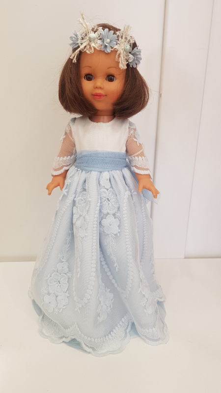 Muñeca con vestido modelo Estambul