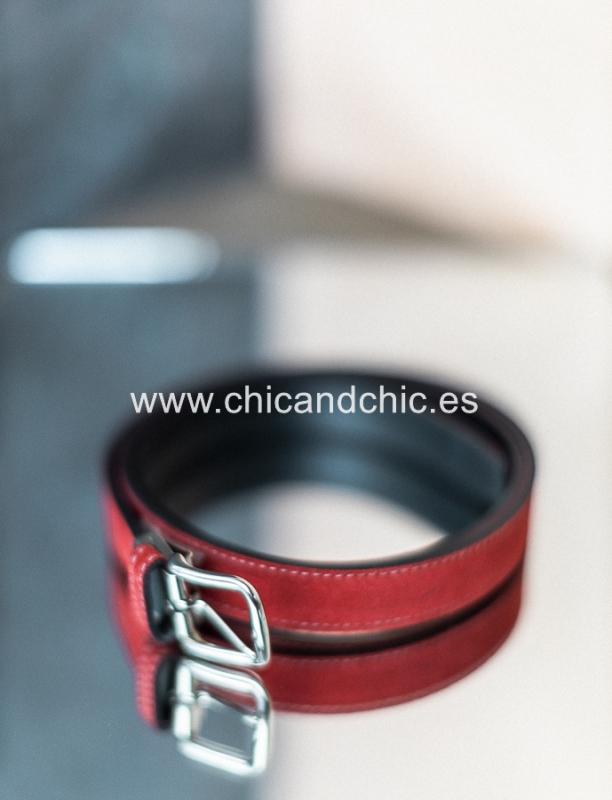 Cinturón ante Rojo