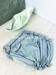 Braga cubrepañal algodón. Color verde agua