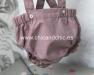 chicandchic-bebe-niño-pelele rosa-1