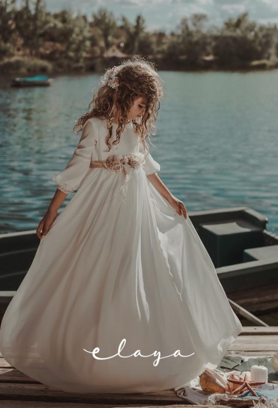 Vestido de comunión ATENEA.