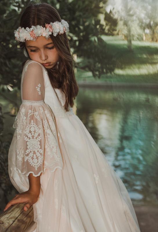 Vestido de comunión CLAUDIA.
