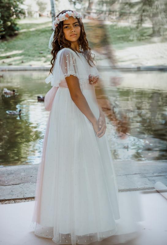 Vestido de comunión IRENE.