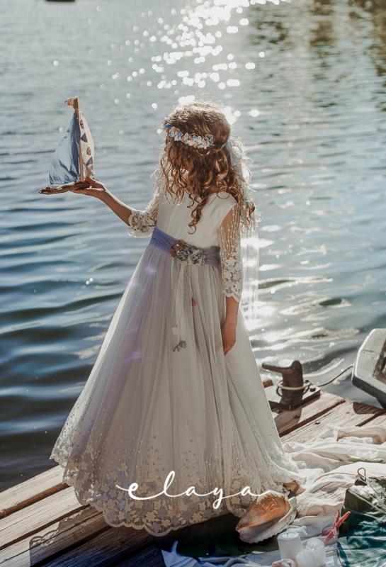 Vestido de comunión ROMINA.
