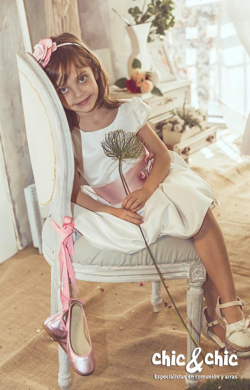Vestido  Alegría crudo-rosa (1-14 Años)
