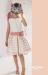 Vestido  Alesia crudo-rosa (2-16 Años)