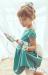 Vestido  Alegría verde. (1-12 Años)