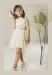 Vestido  Azalea Beige (1-16 Años)
