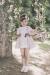 Vestido pique rosa. (2-12 Años)