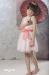 Vestido de tul Azucena Rosa (8-16 Años)