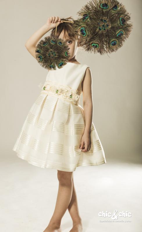 Vestido 1142400 Beige (2-12 Años)