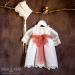 Vestido plumeti de organza 34407 (6-24 meses)