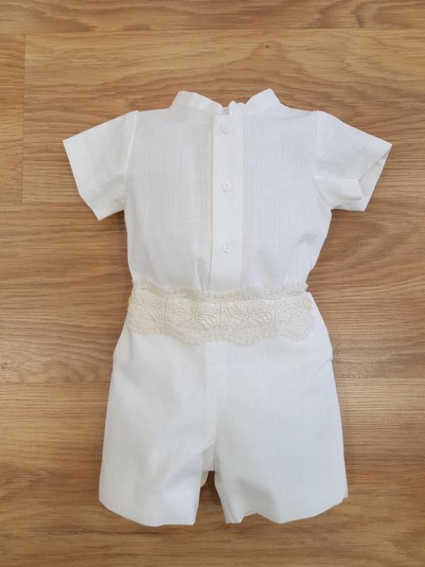 Conjunto niño lino 39917 (De 6 a 24 meses)