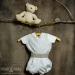 Conjunto niño organza beige 3338 (De 6 a 12 meses)